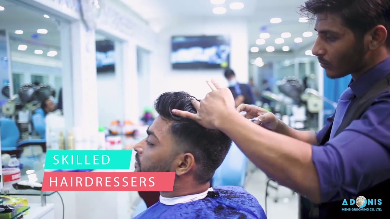best mens salon in dhaka