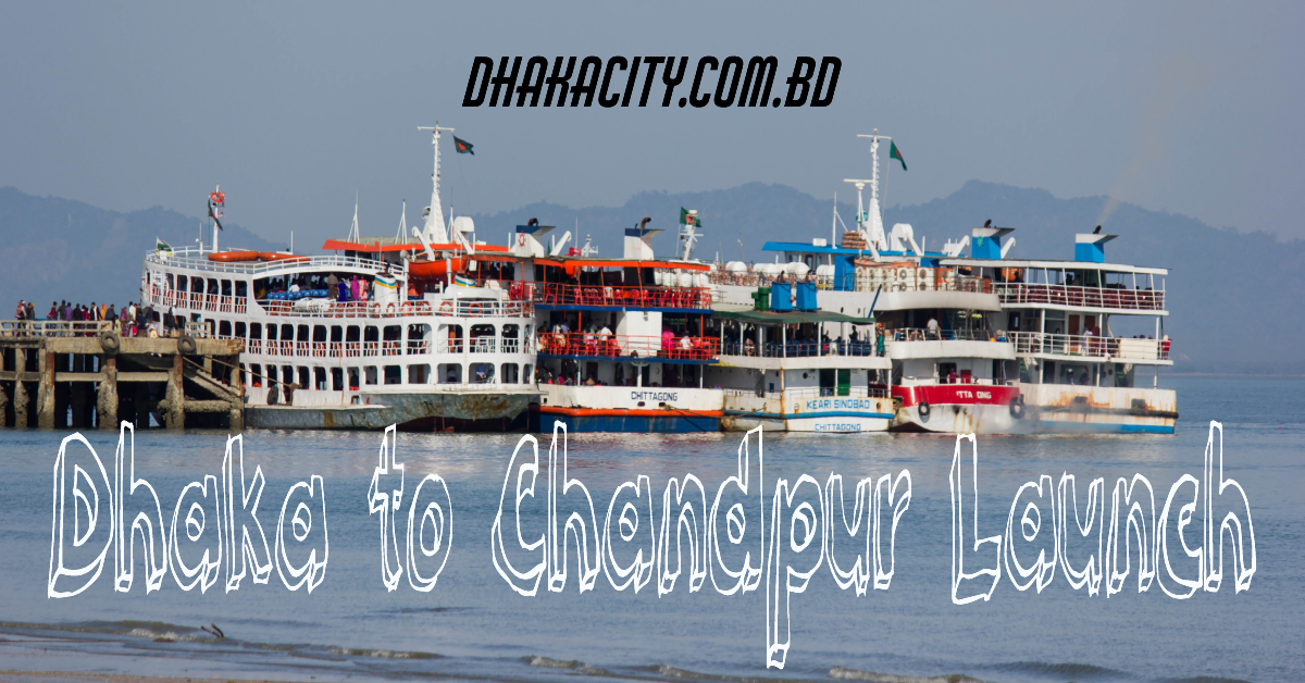 dhaka to chandpur by launch picture